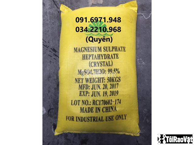 Khoáng tạt MgSO4 dạng thường, tinh thể cho tôm cá giá sỉ - 2/2