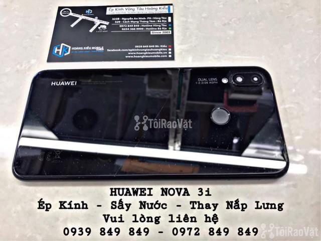 Huawei Nova 3i | Ép Kính - Sấy Nước - Thay Nắp Lưng - 1/4