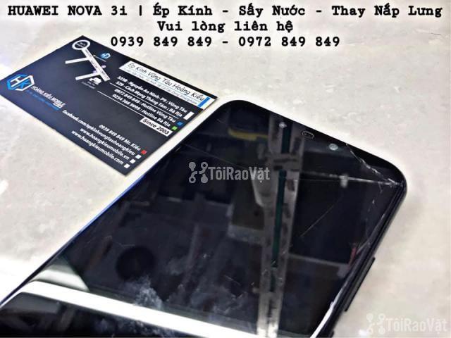 Huawei Nova 3i | Ép Kính - Sấy Nước - Thay Nắp Lưng - 4/4