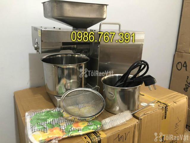Máy ép dầu lạc gia đình GD-07 3-6 kg/h 100% inox ép cực tốt - 3/6