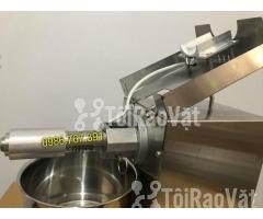 Máy ép dầu lạc gia đình GD-07 3-6 kg/h 100% inox ép cực tốt - Hình ảnh 5/6