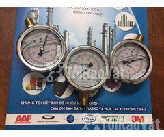 Đồng hồ đo áp có dầu cho bình lọc bình lọc chất lỏng, Đông Châu