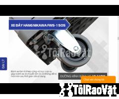 Xe đẩy hàng sàn nhựa Nikawa FWS-150S có gì nổi bật - Hình ảnh 2/5