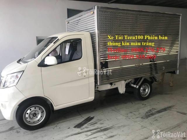xe tải Tera100 phiên bản thùng kín | xe có sẵn hồ sơ giao ngay - 1/5