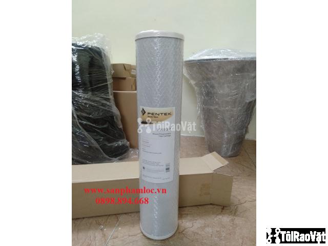 Lõi lọc than hoạt tính BB 20 inch Pentek lọc nước giếng khoan - 1/3
