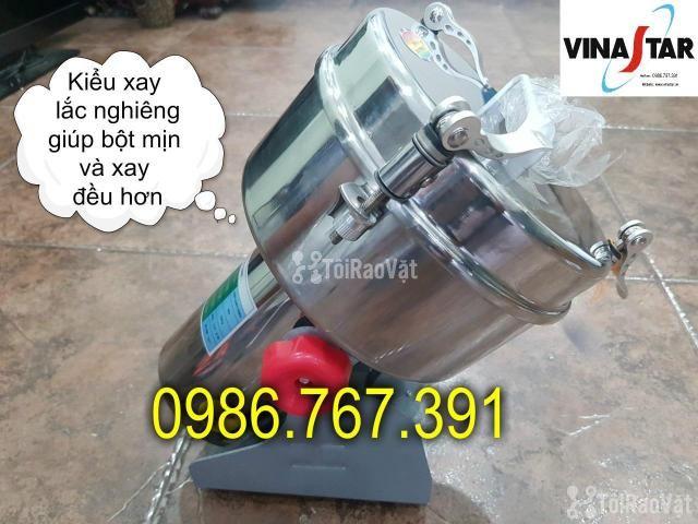 Máy nghiền bột mịn, máy xay thuốc bắc 2kg giá rẻ nhất - 2/5