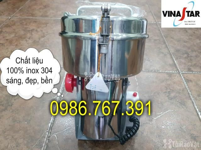 Máy nghiền bột mịn, máy xay thuốc bắc 2kg giá rẻ nhất - 3/5