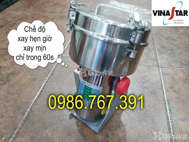 Máy nghiền bột mịn, máy xay thuốc bắc 2kg giá rẻ nhất - 4/5