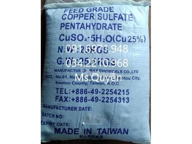 Phèn xanh, đồng sulphate, CuSO4  Đài Loan diệt ký sinh trùng hiệu quả  - 2/2