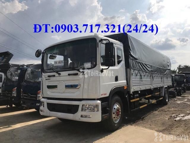 Xe tải Veam 9t3 thùng dài 7m6 mới 2019 thùng 7 bửng. Xe tải Veam VPT95 - 1/6