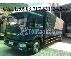 Xe tải Veam 9t3 (Veam VPT950). Gía xe tải Veam 9T3 - 9300kg thùng 7m6 - Hình ảnh 1/6