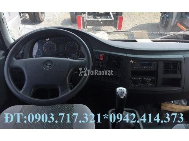 Xe tải Veam 9t3 (Veam VPT950). Gía xe tải Veam 9T3 - 9300kg thùng 7m6 - 4/6