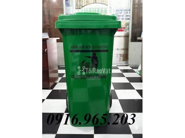 Thùng rác y tế 120l công cộng - 1/4