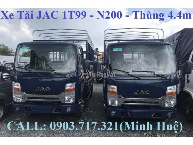 Đại lý bán xe tải Jac 1T99 (Xe Jac 1T9 N200 mới 2019) Gía bán xe Jac - 2/6