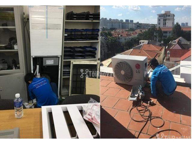 Tư vấn – cung cấp – Lắp đặt máy lạnh tủ đứng 6HP giá rẻ tốt nhất  - 2/2