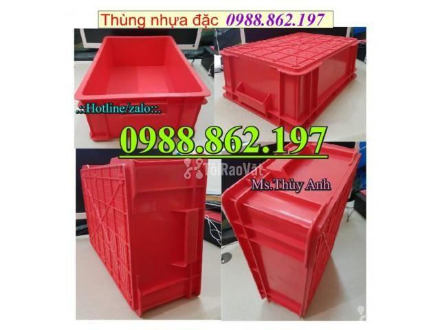 Thùng nhựa B4 giá rẻ, thùng nhựa đặc B4, Thùng chứa B4, thùng nhựa b4, - 3/6
