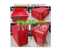 Thùng nhựa B4 giá rẻ, thùng nhựa đặc B4, Thùng chứa B4, thùng nhựa b4, - Hình ảnh 3/6