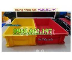 Thùng nhựa B4 giá rẻ, thùng nhựa đặc B4, Thùng chứa B4, thùng nhựa b4, - Hình ảnh 4/6