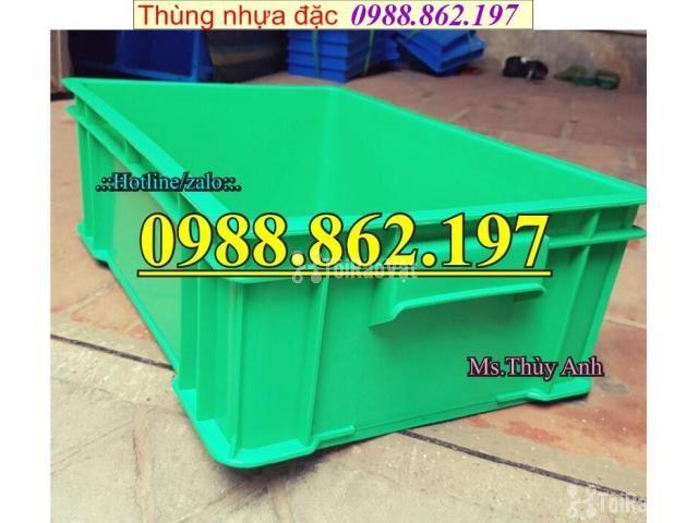 Thùng nhựa B4 giá rẻ, thùng nhựa đặc B4, Thùng chứa B4, thùng nhựa b4, - 6/6