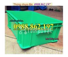 Thùng nhựa B4 giá rẻ, thùng nhựa đặc B4, Thùng chứa B4, thùng nhựa b4, - Hình ảnh 6/6