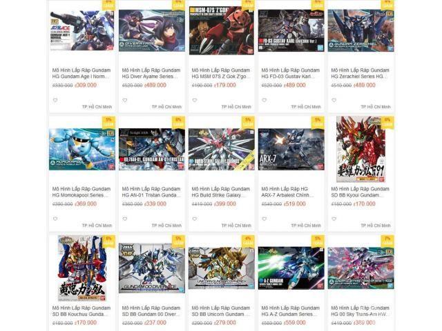 Bán Mô Hình Lắp Ráp Gundam Bandai Giá Siêu Rẻ tại AZGundam - 4/4