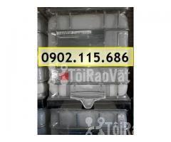 Sỉ lẻ thùng nhựa 1000L (Tank nhựa IBC) cũ và mới giá rẻ - Hình ảnh 2/3