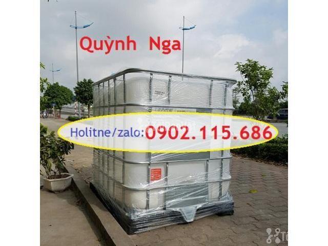 Sỉ lẻ thùng nhựa 1000L (Tank nhựa IBC) cũ và mới giá rẻ - 3/3