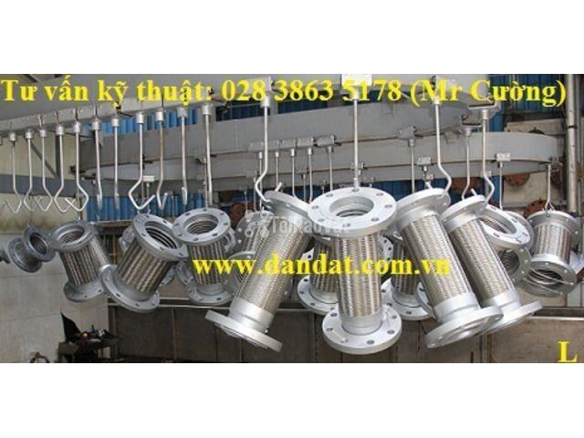 Ống mềm inox chống rung/khớp nối mềm inox/khớp chống rung inox - 4/6