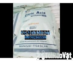 Ctric Acid Monohydrate