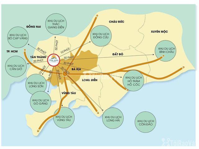 Bán đất trả góp 5 năm ko lãi suất ngay trung tâm Phú Mỹ giá chỉ 180 tr - 5/6