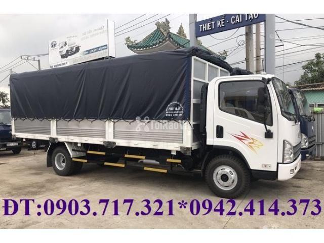 Xe tải Faw 7T3 - 7.3Tấn ga cơ máy Hyundai D4DB thùng dài 6m3 mở 7 bửng - 2/6
