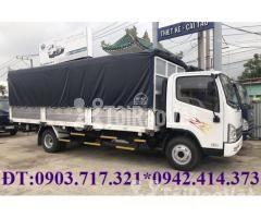Xe tải Faw 7T3 - 7.3Tấn ga cơ máy Hyundai D4DB thùng dài 6m3 mở 7 bửng - Hình ảnh 2/6