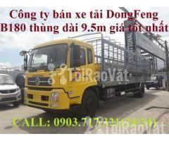 Xe tải DongFeng B180 thùng dài 9m5. Xe tải Dongfeng 8 tấn thùng dài 9m - Hình ảnh 1/6