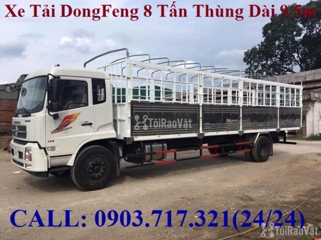 Xe tải DongFeng B180 thùng dài 9m5. Xe tải Dongfeng 8 tấn thùng dài 9m - 2/6