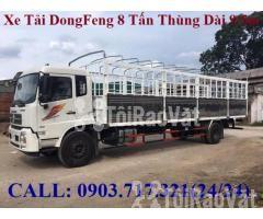 Xe tải DongFeng B180 thùng dài 9m5. Xe tải Dongfeng 8 tấn thùng dài 9m - Hình ảnh 2/6