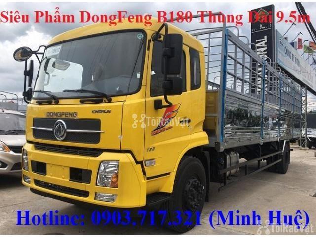 Xe tải DongFeng B180 thùng dài 9m5. Xe tải Dongfeng 8 tấn thùng dài 9m - 3/6