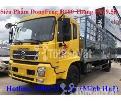 Xe tải DongFeng B180 thùng dài 9m5. Xe tải Dongfeng 8 tấn thùng dài 9m - Hình ảnh 3/6