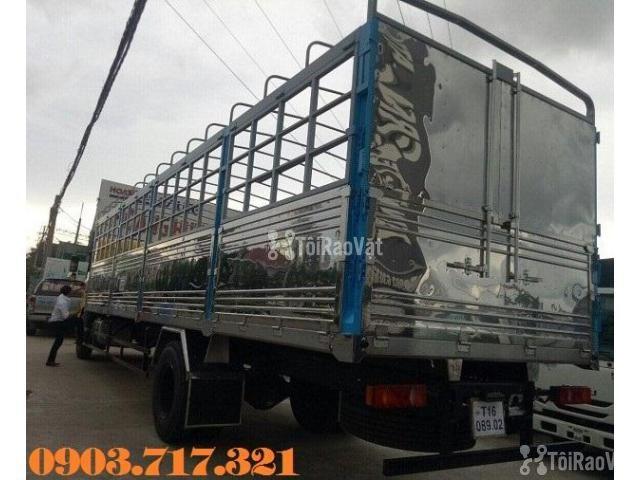 Xe tải DongFeng B180 thùng dài 9m5. Xe tải Dongfeng 8 tấn thùng dài 9m - 4/6