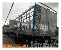 Xe tải DongFeng B180 thùng dài 9m5. Xe tải Dongfeng 8 tấn thùng dài 9m - Hình ảnh 4/6