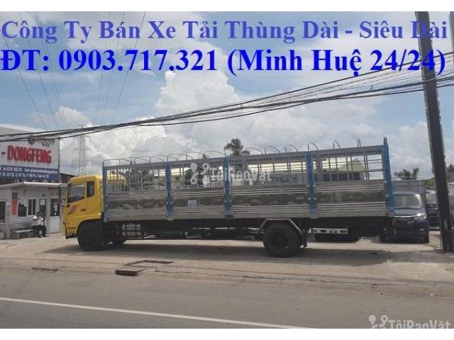 Xe tải DongFeng B180 thùng dài 9m5. Xe tải Dongfeng 8 tấn thùng dài 9m - 5/6