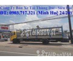 Xe tải DongFeng B180 thùng dài 9m5. Xe tải Dongfeng 8 tấn thùng dài 9m - Hình ảnh 5/6