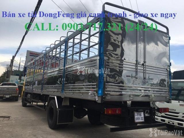 Xe tải DongFeng B180 thùng dài 9m5. Xe tải Dongfeng 8 tấn thùng dài 9m - 6/6