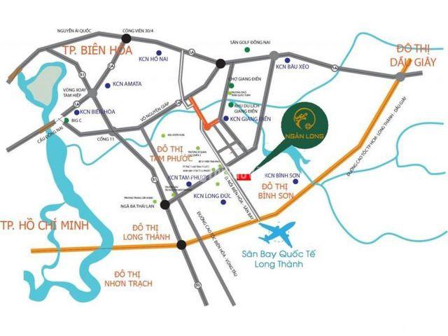 Mở bán dự án KDC Ngân Long, Long Đức Long Thành - Đồng Nai - 2/2