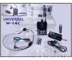 Bộ Micro không dây Đeo tai - Cài áo Universal XD-SH W-14C UHF - Hình ảnh 2/6