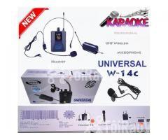 Bộ Micro không dây Đeo tai - Cài áo Universal XD-SH W-14C UHF - Hình ảnh 4/6