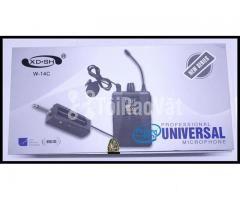 Bộ Micro không dây Đeo tai - Cài áo Universal XD-SH W-14C UHF - Hình ảnh 6/6