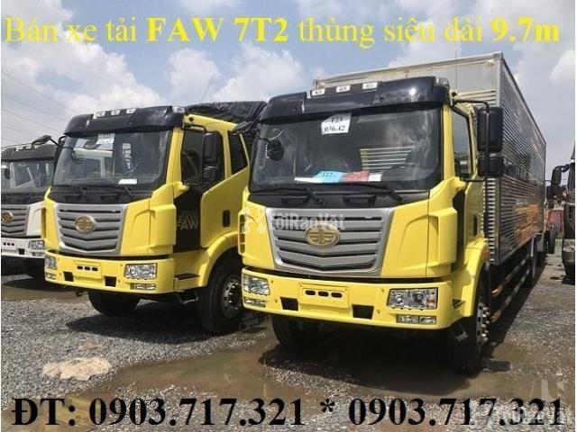 Xe tải Faw 7T25Euro 4 mới 2019. Xe tải Faw 7T25/ 7t25 Euro 4 mới 2019 - 4/6