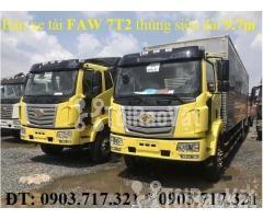 Xe tải Faw 7T25Euro 4 mới 2019. Xe tải Faw 7T25/ 7t25 Euro 4 mới 2019 - Hình ảnh 4/6