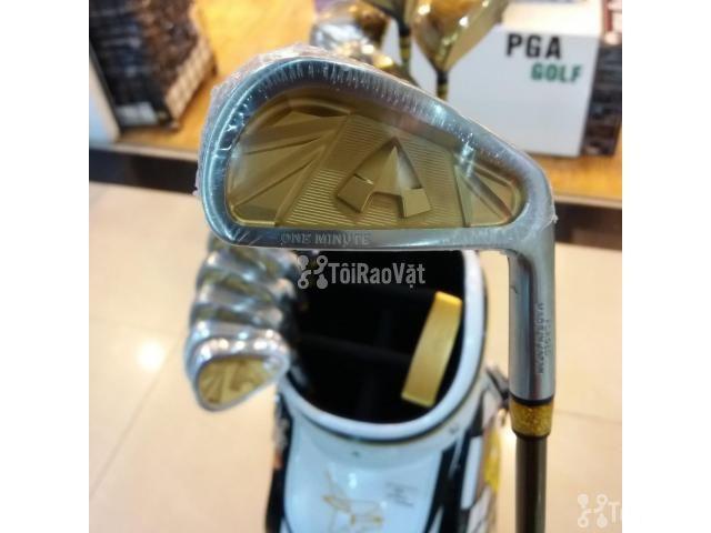 Bộ Gậy Golf Grand Prix One Minute G57 Gold - 3/6