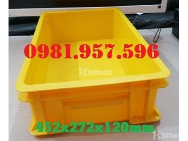 Khay nhựa đặc, hộp nhựa đựng linh kiện, thùng nhựa đựng phụ tùng - 1/2